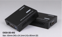 50M HDMI Extender Over Single Cat5e/6 , With Bi-directional Wide-Band IR, EDID