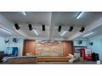 Simple Stage Lighting with LED WALL (P2.5) @ School Cover Playground