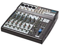 ARCTIC 8 Channels Audio Mixer - SM-802MUSB